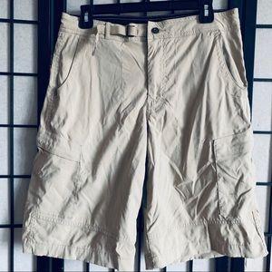 Prana breathe Zion cargo hiking shorts sz M